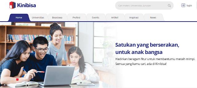 Salah satu website penting untuk Mahasiswa