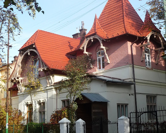 Стрый. Дом по улице В. Черновола