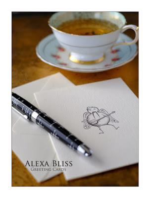 Alexa Bliss Critter Greeting Cards www.alexabliss.com