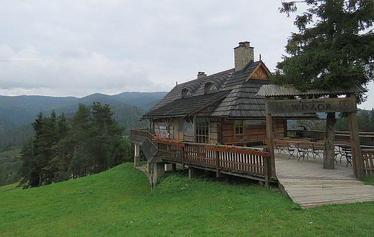 Chata Wdzor na górze Wdżar.