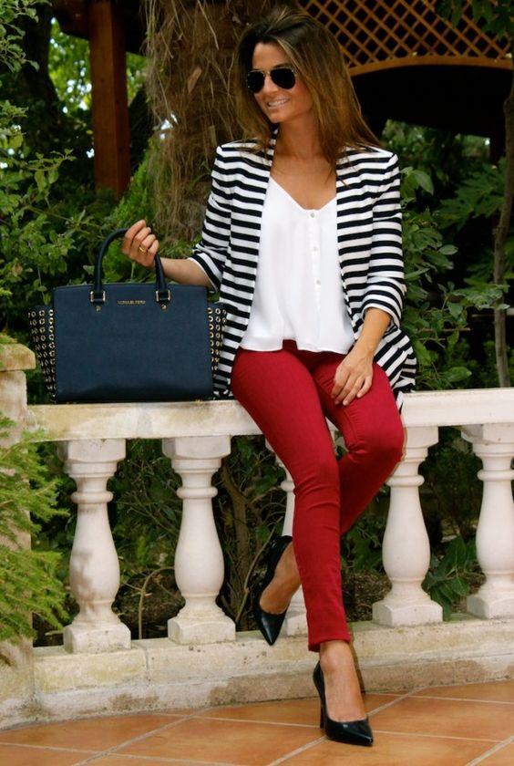 look_calças_vermelhas