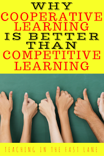 Do you want student engagement to skyrocket? Check out why cooperative learning is better than competitive learning!