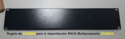 Tapa Rack Comunicaciones Multipropositpo CE3BKN