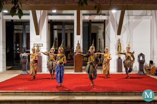 Cambodian Court Dance at The Dining Room, Park Hyatt Siem Reap