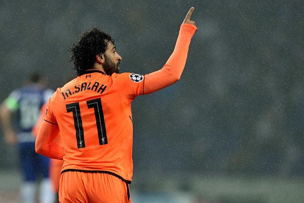 أسطورة ليفربول يمتدح محمد صلاح بعد هدفه في دوري الأبطال