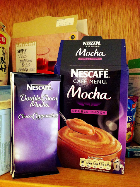 nescafe double choca mocha, nescafe mocha, instant mocha, nescafe mocha review, double choca review
