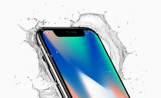 Source: Apple. The iPhone X is dust- and water-resistant.