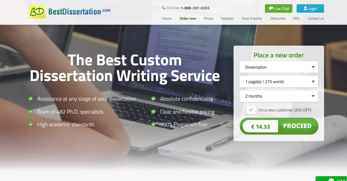 Reviews on dissertation writing services