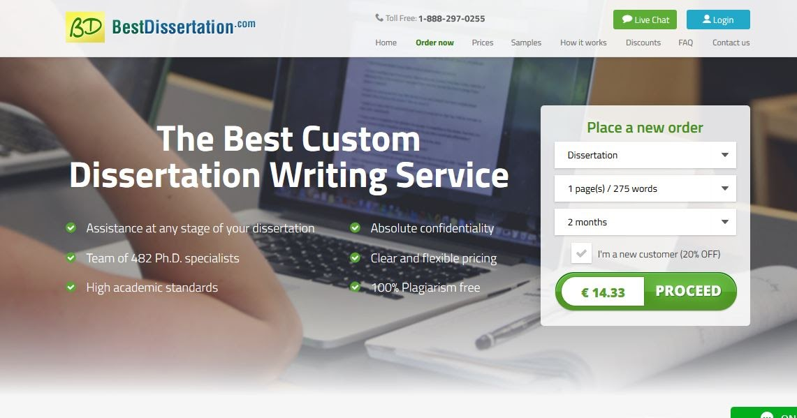 Best dissertation writing service review