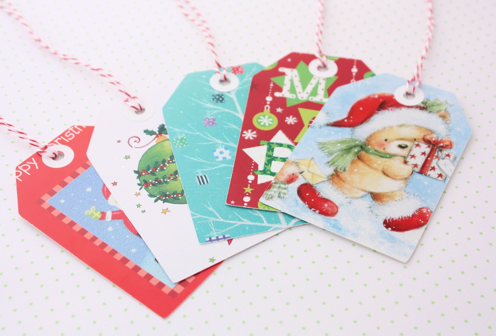 recycled christmas cards  a spoonful of sugar