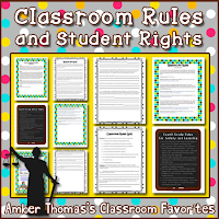 https://www.teacherspayteachers.com/Product/Classroom-Rules-and-Student-Rights-Packet-259857