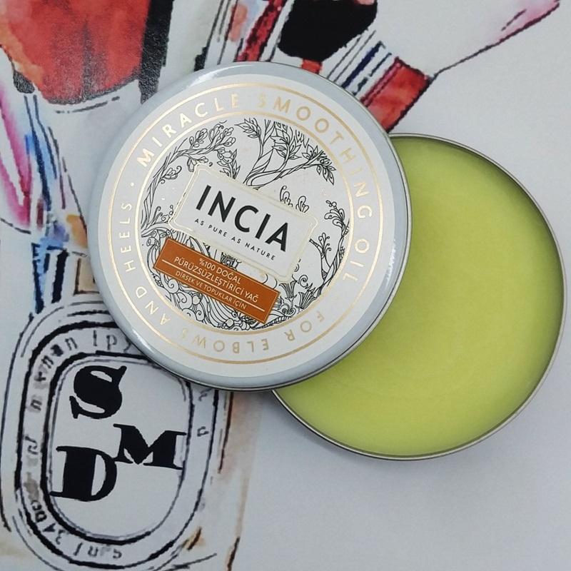 makyaj, INCIA Doğal Pürüzsüzleştirici Yağ, doğal ürünler, Cilt Bakımı, Makyaj Blog, Makyaj blogları