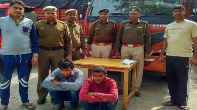 पुलिस पर फायरिंग करने वाले गौ हत्यारे दबोचे गए
