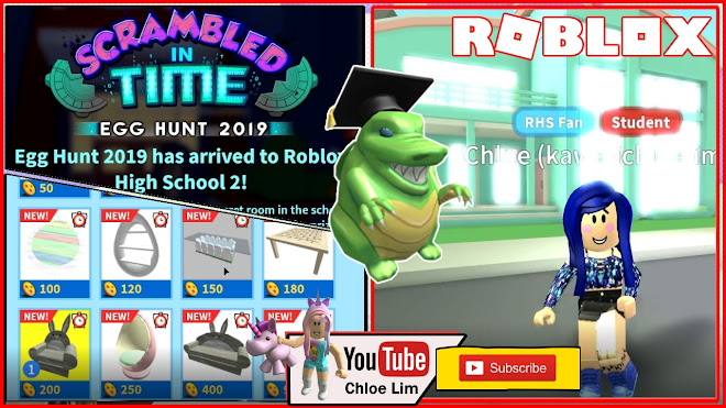 Roblox Gameplay High School 2 Getting The Scaled Eggducator Egg