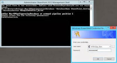 CREATING A SHAREPOINT 2013 FARM USING SQL ALIASES, FROM POWER SHELL