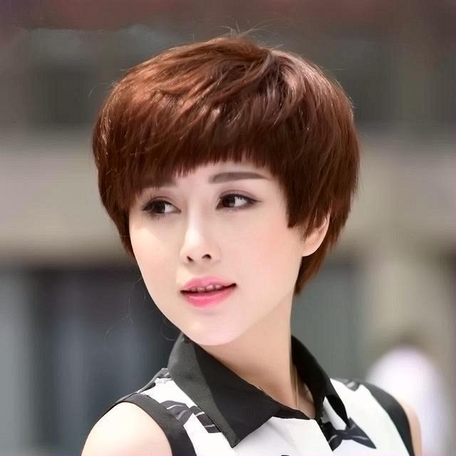 Một số kiểu tóc ngắn đẹp khiến chị em U40 trẻ ra cả chục tuổi
