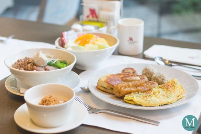 Breakfast Buffet at Taipei Marriott Hotel