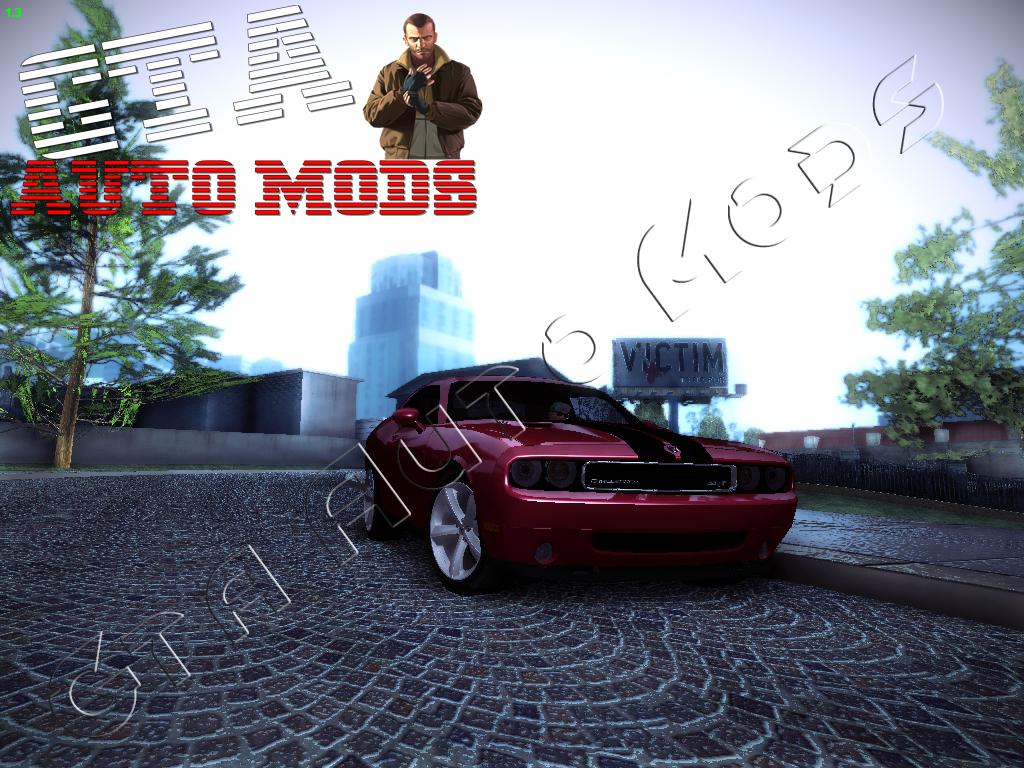 Gta Auto Mods Gta Sa Dodge Challenger Srt8