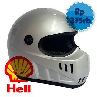 Helm cakil replika