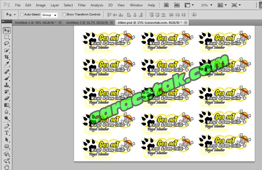 Cara Cetak Stiker Digital Dengan Printer Biasa