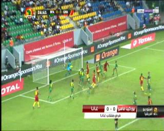 شاهد مباراة بوركينا فاسو وغانا فى كأس الأمم الأفريقية - الجابون لتحديد المركز الثالث