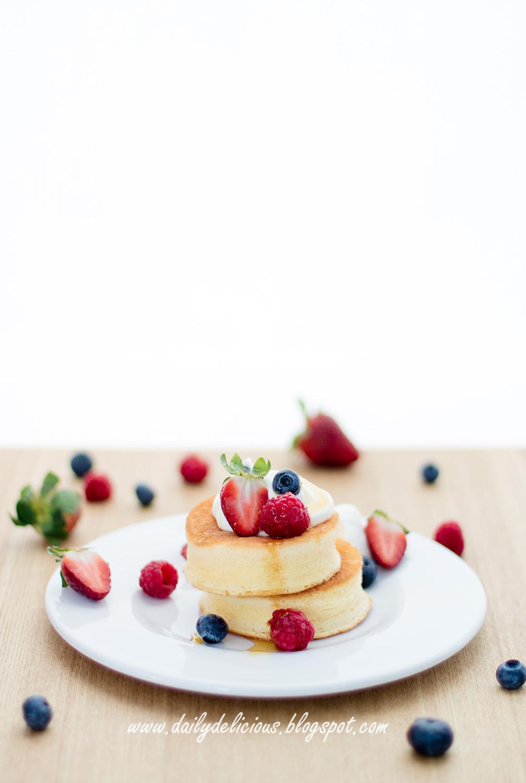 dailydelicious souffl233 pancake �������� japanese style