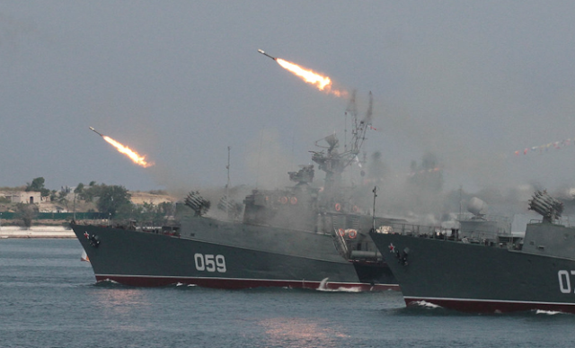 Russia appears to be readying for a naval battle with the US near Syria — but it could be a bluff