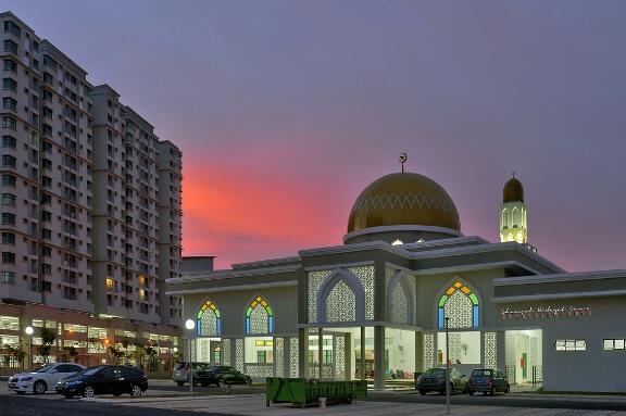 masjid seksyen 7 shah alam landmark