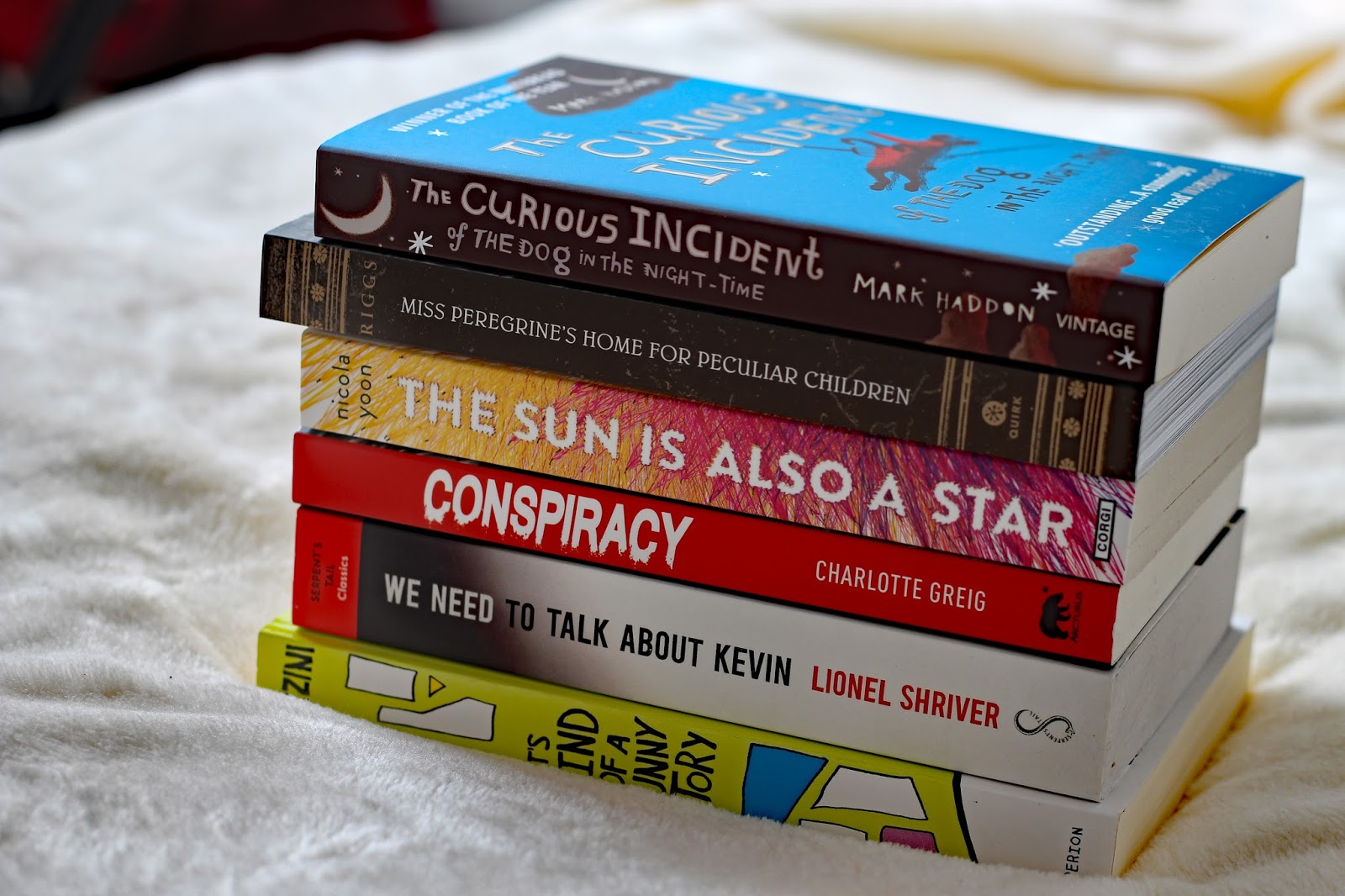 December Book Haul book blogger books waterstones whsmiths ya young adult fiction