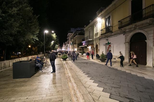 Manfredonia centro pedonale