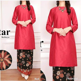 model baju kurung rok batik