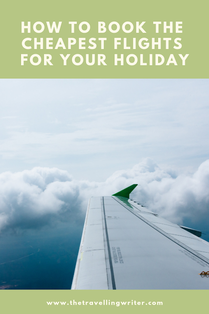 pin for booking the cheapest flights