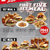 Save Up to P228 with First Five Set Meal at Zark's Burger