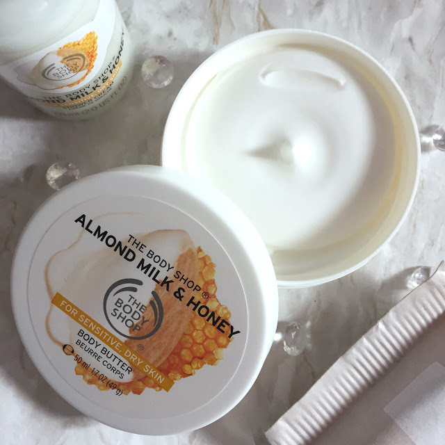 The Body Shop Almond Milk And Honey Body Butter