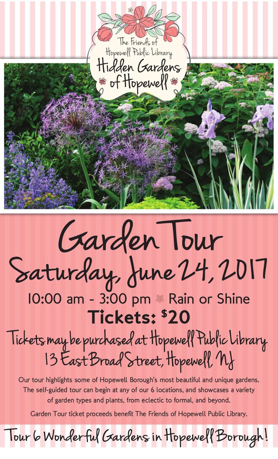 2017 Hopewell Garden Tour