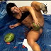 """""""Talent In Display""""; Woman Crushes Three Watermelons With Her Muscular Thighs. (See Photos)"""