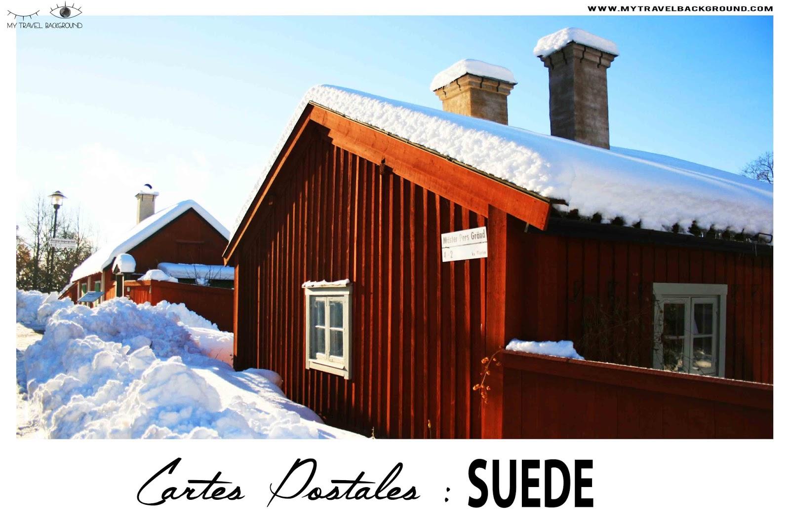 My Travel Background : Cartes Postales de Suède