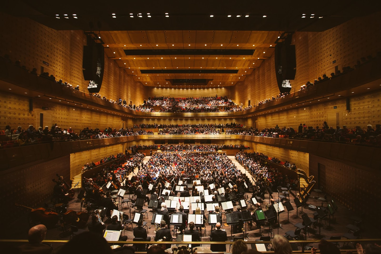 Planet Hugill: On time, on budget: Queen Elisabeth Hall in Antwerp