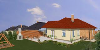 Családi ház jó energetikai mutatókkal