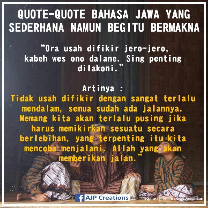 Kata Kata Mutiara Jawa Kuno Penuh Makna Quotemutiara