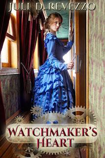 Watchmaker's Heart, Victorian romance, steampunk romance, Juli D. Revezzo