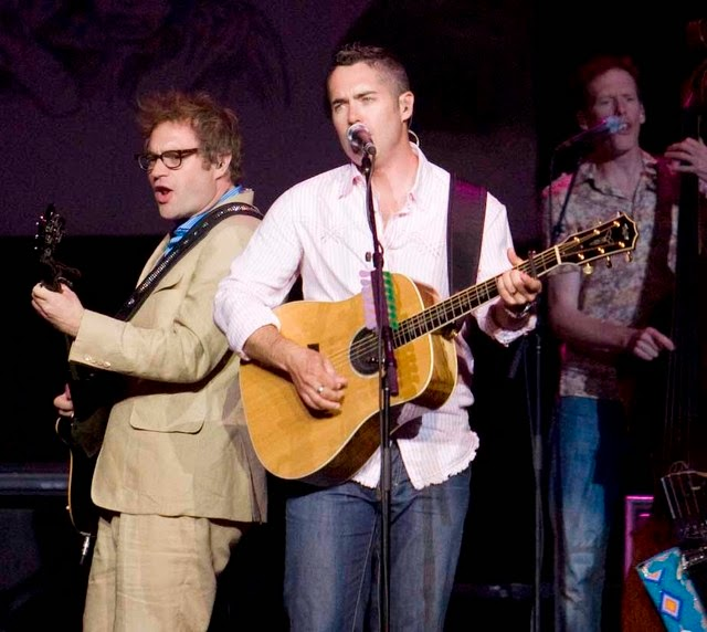 Barenaked Ladies is a Canadian rock band. The band is currently composed of Jim Creeggan, Kevin Hearn, Ed Robertson, and Tyler Stewart. Barenaked Ladies formed in 1988 in Scarborough, Ontario.