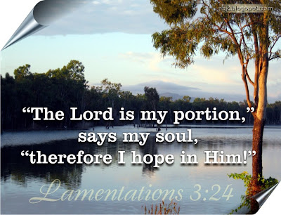 Lord is my portion