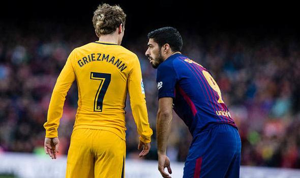 Suarez bóng gió Griezmann sắp gia nhập Barca