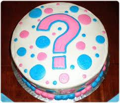 tipo de bolo para cha de revelação
