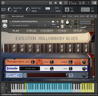 Orange Tree Samples - Evolution Hollowbody Blues Screenshot 3