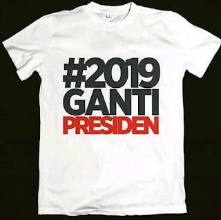 Disain Kaos Ganti Presiden Terlaris