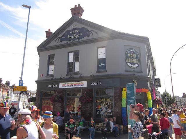 Brighton Pride Hare and Hounds pub