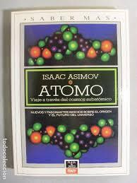 Portada del libro Átomo, de Asimov