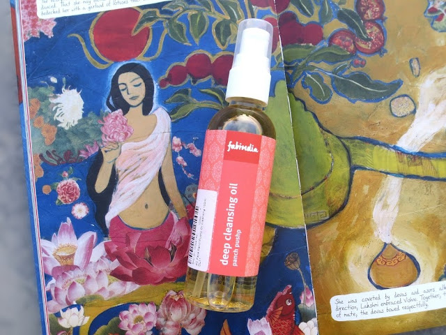 FabIndia Panch Pushp Deep Cleansing Oil Review